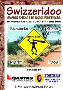 Flyer Swizzeridoo 2002